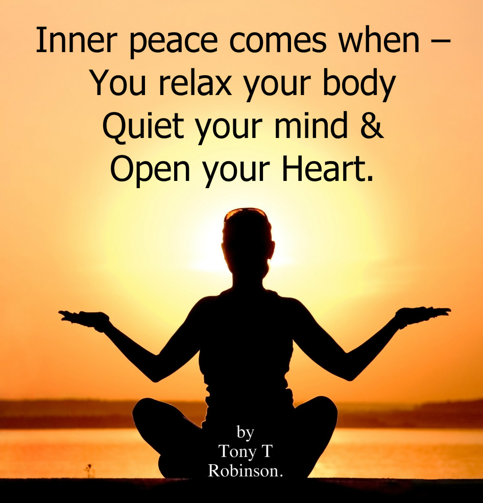 Daily Inspiration – INNER PEACE. – Transform Your Life ...