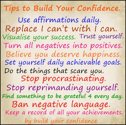 10 steps to build your confidence transform your life with tony t today i am stronger and more confident than i was yesterday and ccuart Images